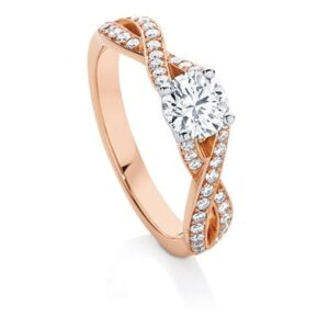 Entwine II engagement ring