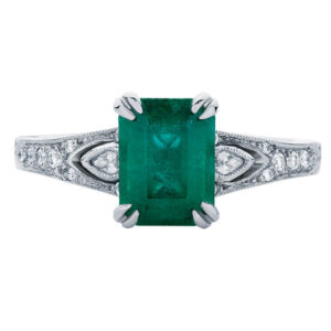Eve White Gold Engagement Ring