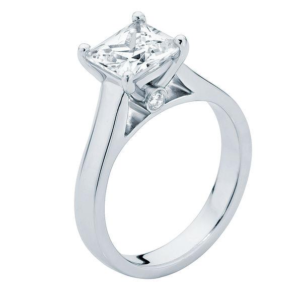 Faith Platinum Engagement Ring
