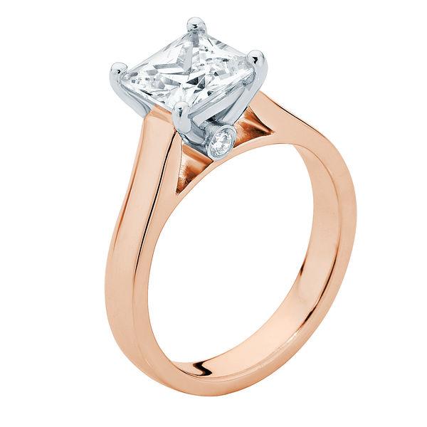 Faith Rose Gold Engagement Ring