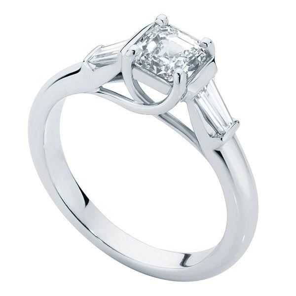 Fern Platinum Engagement Ring