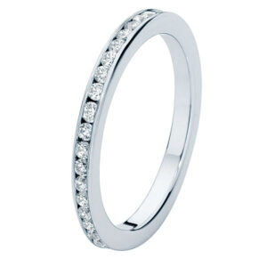 Fine Infinity Channel Eternity Ring