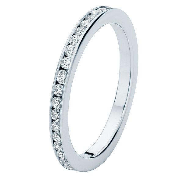 Fine Infinity Channel Eternity Ring
