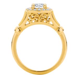Florence Yellow Gold Engagement Ring