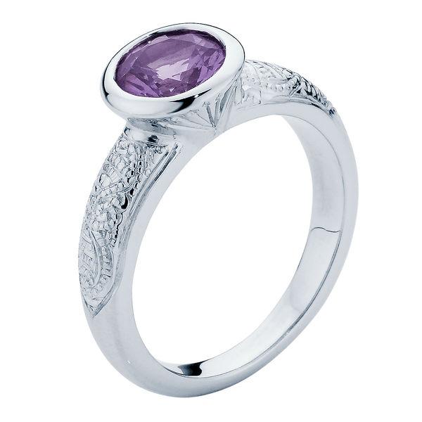 Henna White Gold Engagement Ring