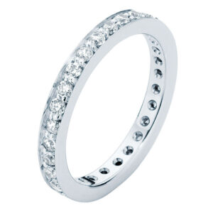Infinity Bead Set Eternity Ring