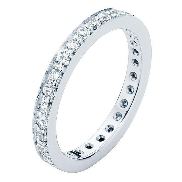 Infinity Bead Set Eternity Ring
