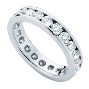 Infinity Channel Eternity Ring