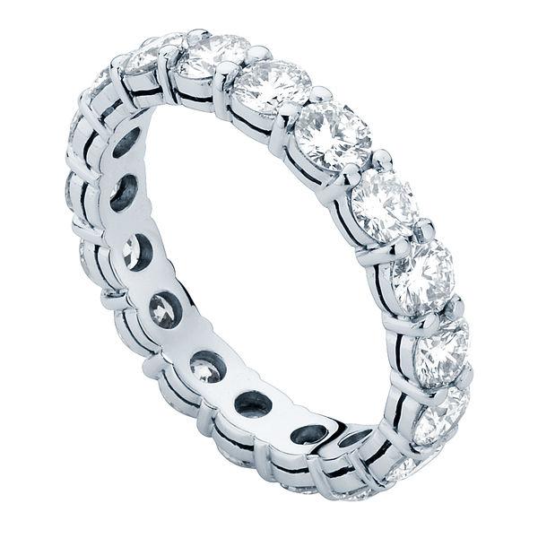 Infinity Claw Set Platinum Wedding Ring