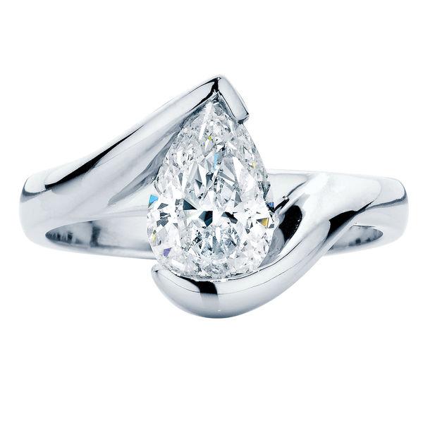 Ivy Platinum Engagement Ring