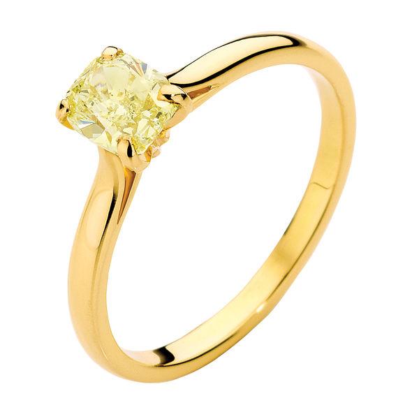Joy Yellow Gold Engagement Ring