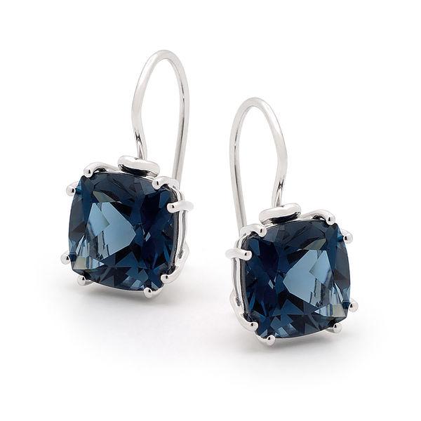 London Blue Drops Earings