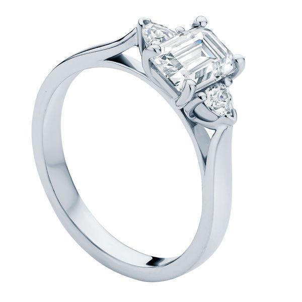 Luna White Gold Engagement Ring