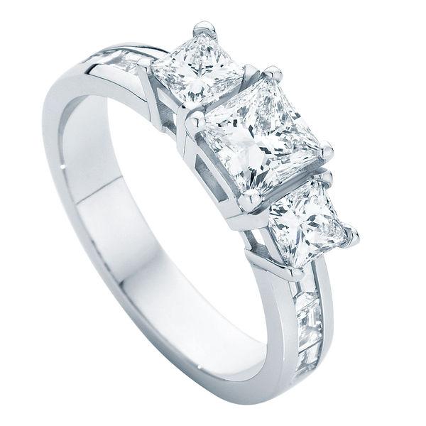 Mercury Platinum Engagement Ring