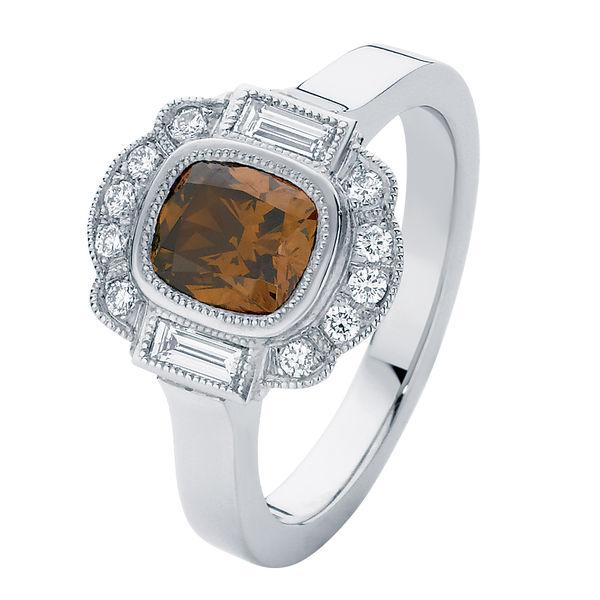 Messina Platinum Engagement Ring