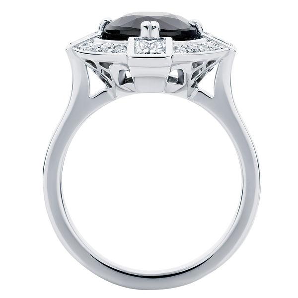 Midnight Sky Platinum Engagement Ring