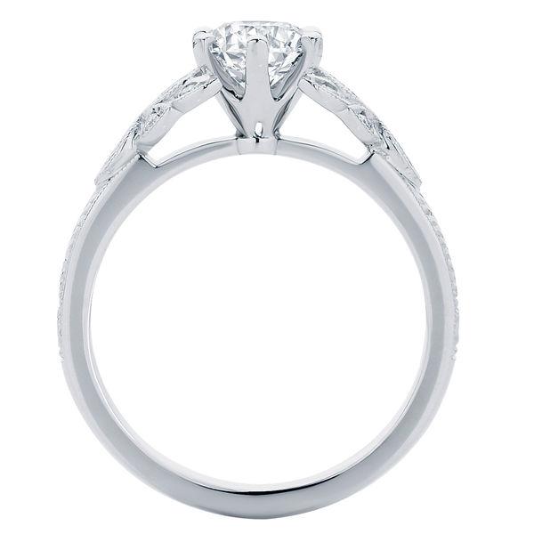 Morning Star II Platinum Engagement Ring