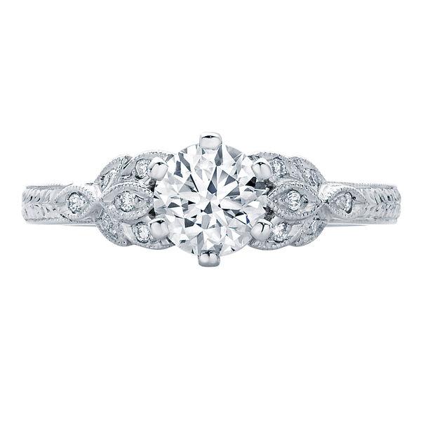 Morning Star II White Gold Engagement Ring