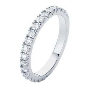 Novo White Gold Wedding Ring