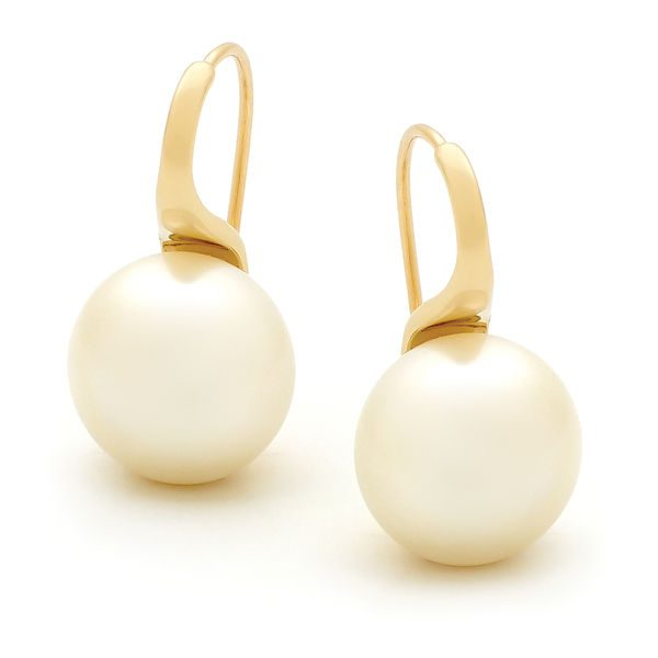South Sea Pearl Drops Earings