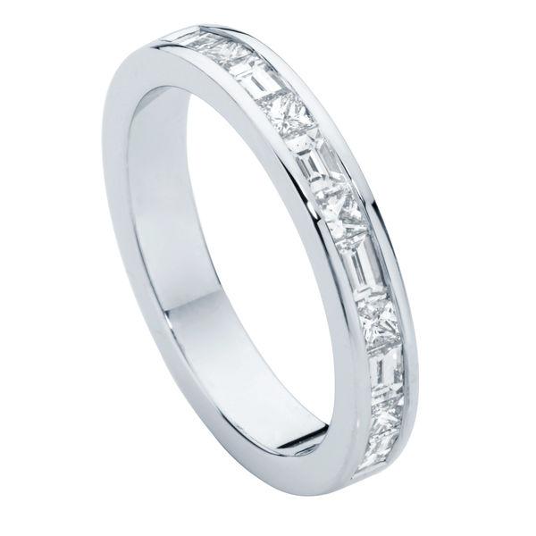 Princess Baguette Eternity Ring