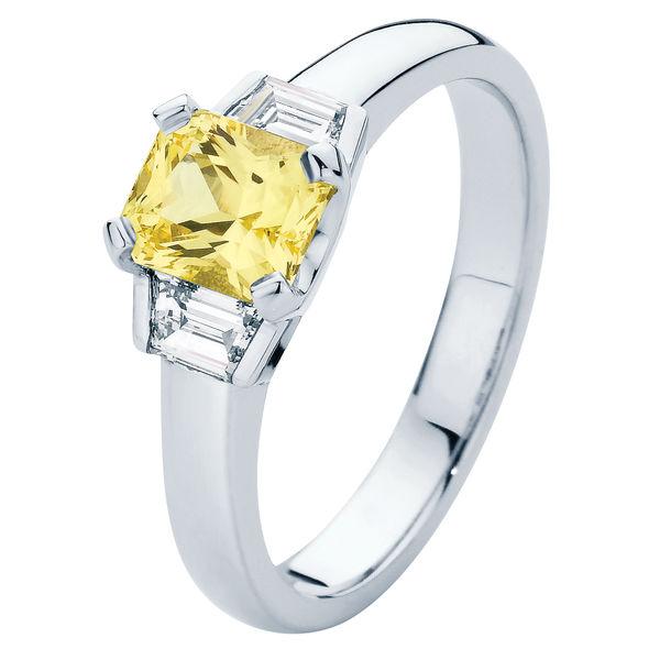 Radiance Platinum Engagement Ring