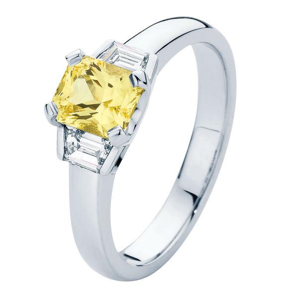 Radiance White Gold Engagement Ring
