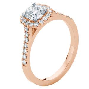 Rosetta Rose Gold Engagement Ring