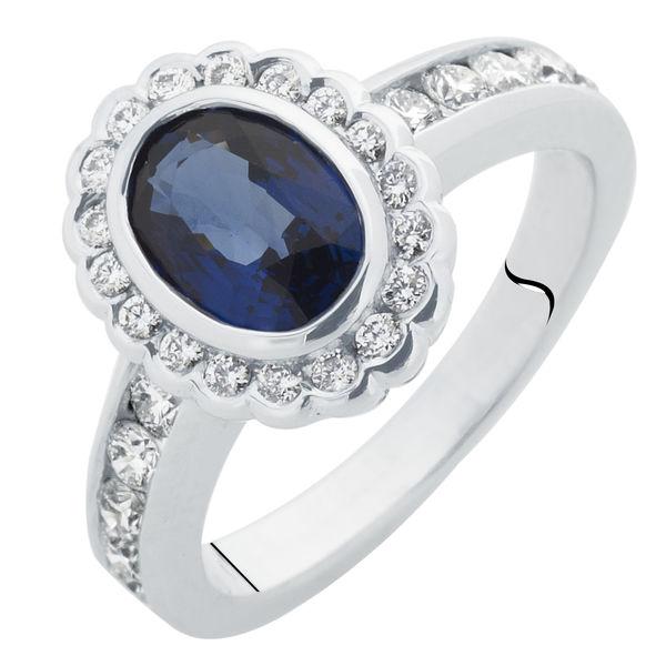 Royale White Gold Engagement Ring