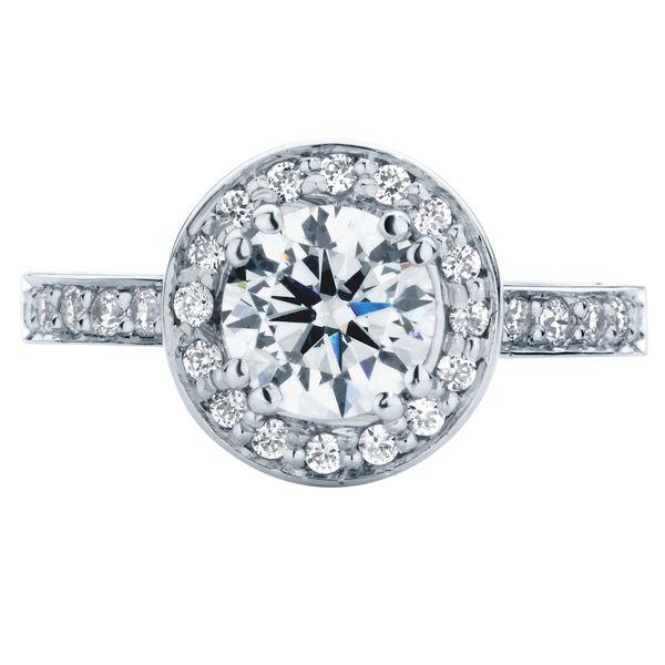 Serenity Brilliant Platinum Engagement Ring