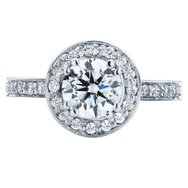 Serenity Brilliant White Gold Engagement Ring
