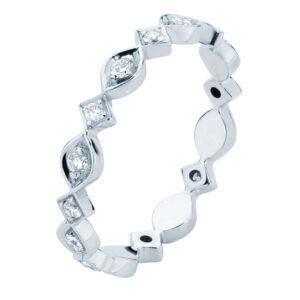 Stella White Gold Wedding Ring