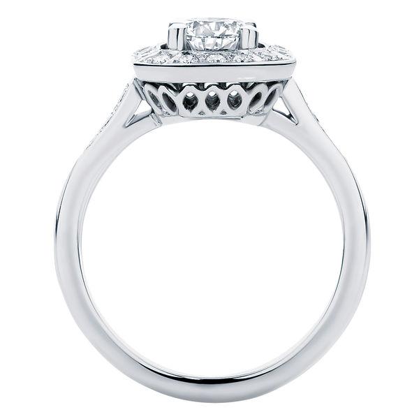 Tesoro Platinum Engagement Ring