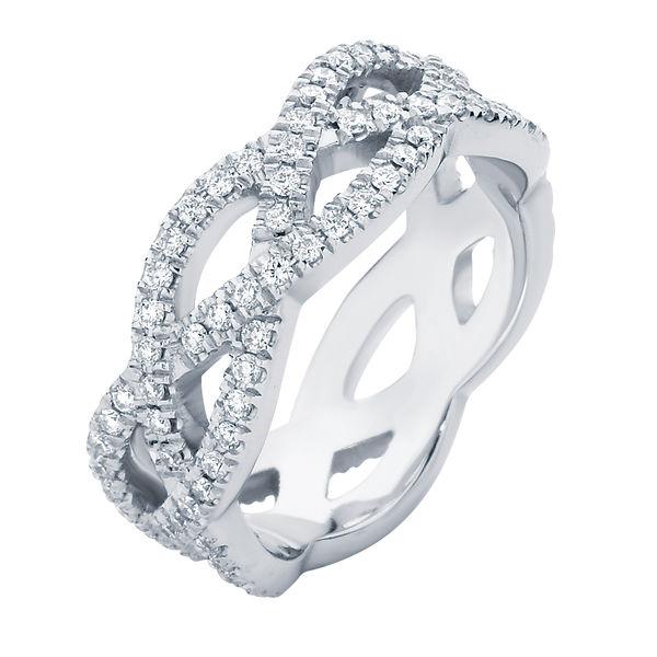 Trinity White Gold Wedding Ring
