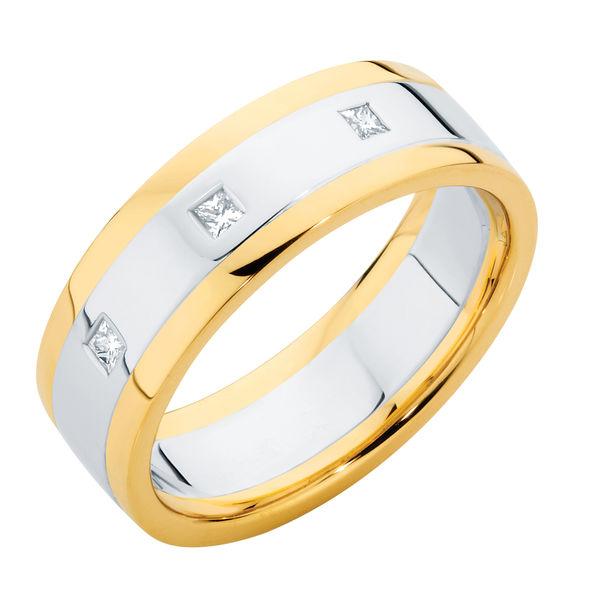 Union Gypsy White Gold Wedding Ring
