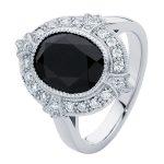 Venezia White Gold Engagement Ring