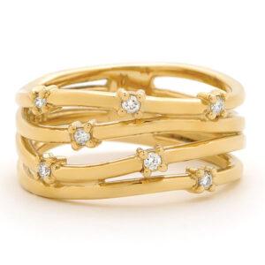 Yellow Dress Ring Dress Ring