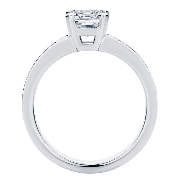 Zen Platinum Engagement Ring