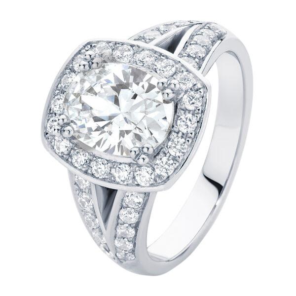 Diamond Sky White Gold Engagement Ring