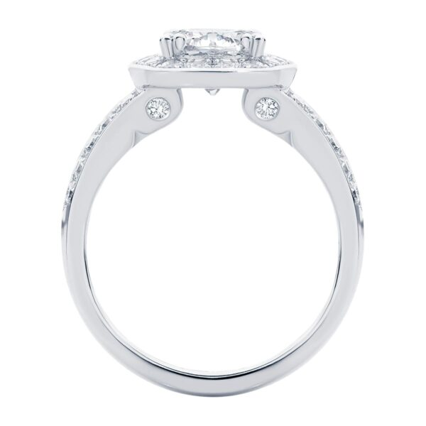 Diamond Sky White Gold Engagement Ring