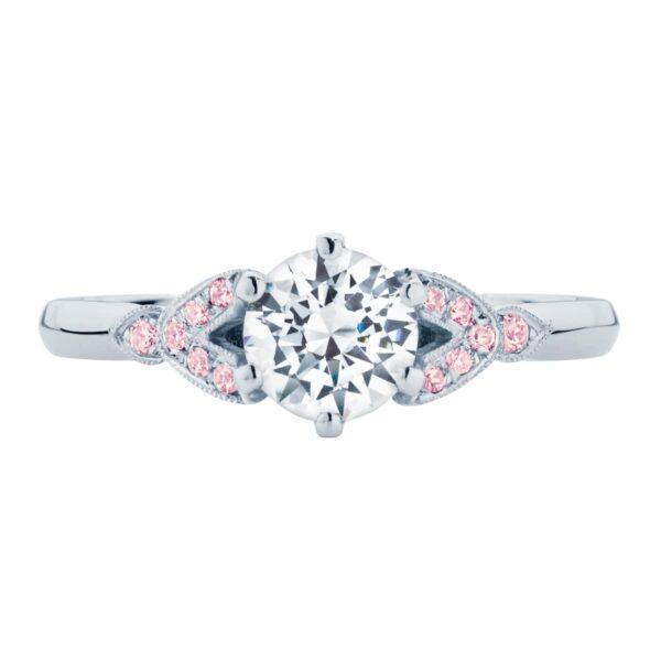 Morning Star IV White Gold Engagement Ring