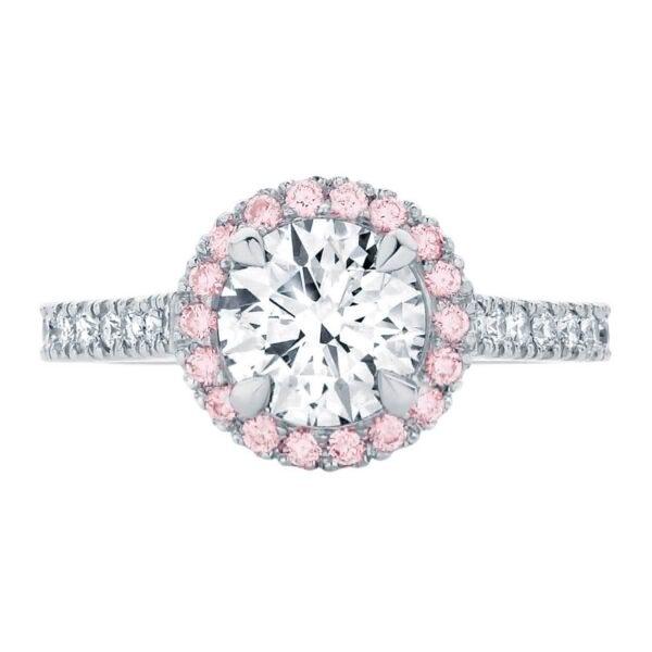 Rosetta Brilliant IV White Gold Engagement Ring