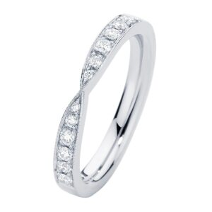 Stella Brilliant White Gold Wedding Ring