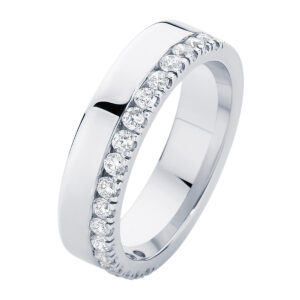 Thea White Gold Wedding Ring
