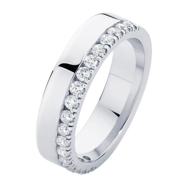 Thea White Gold Wedding Ring