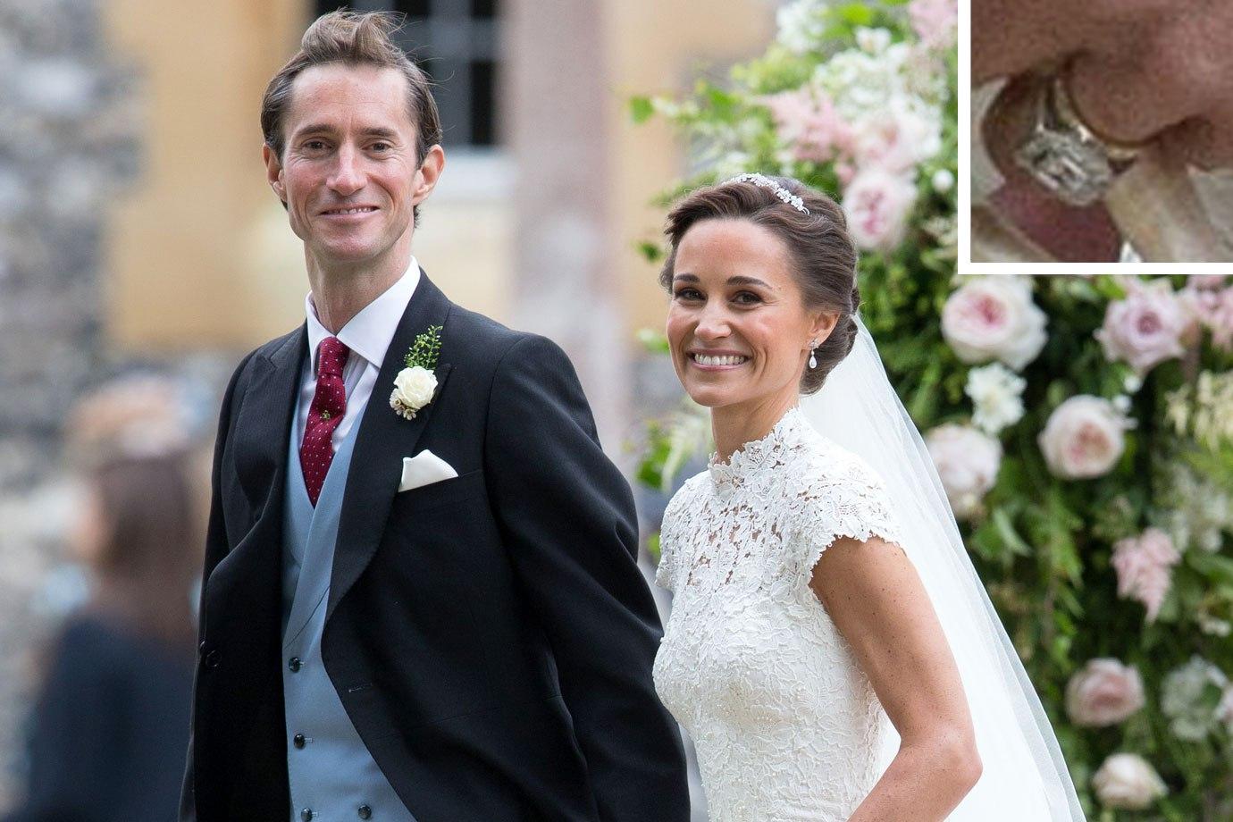 Pippa Middleton S Wedding Day Larsen Jewellery