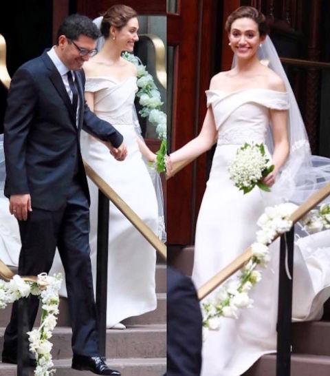 Emmy Rossum Wedding: 2017 Celebrity Weddings