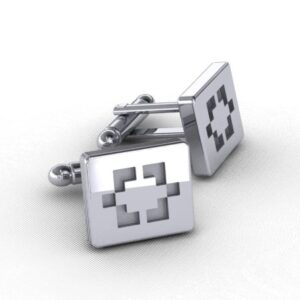 Custom Designed Silver Cufflinks