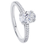 Aurelia White Gold Engagement Ring