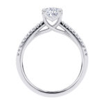 Aurelia Engagement ring with Oval diamond